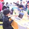 Tech Kids CAMP Christmasのようす