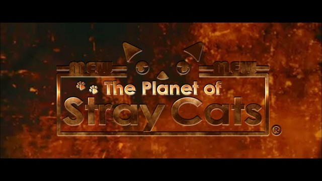 「~おとなのアニメ~ The Planet of Stray Cats」 (C)2014 PLUS heads inc.