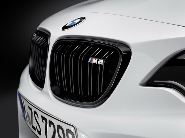 BMW M2 クーペのMパフォーマンスパーツ