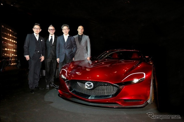 Mazda RX-VISIONが「Most Beautiful Concept Car of the Year賞」を受賞