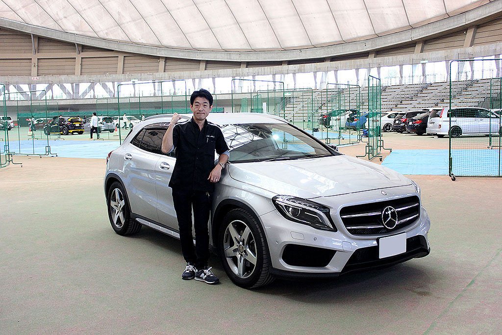 Mercedes-Benz・GLA(オーナー: 阪本武臣さん)by Av Kansai 堺