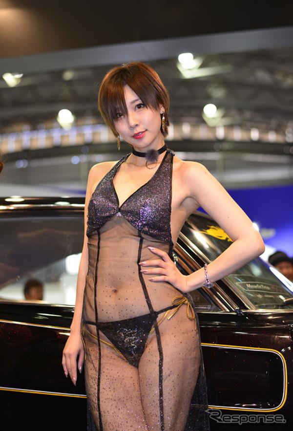 【東京オートサロン2017】コンパニオン…前も後ろも刺激的、AIWA その2 7枚目の写真・画像