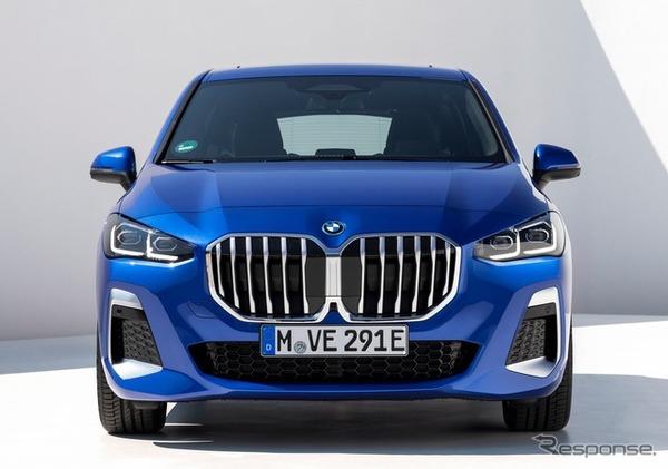 BMW 2シリーズ・アクティブツアラー 新型にPHV、EVモードは航続80kmに拡大   Push on! Mycar-life
