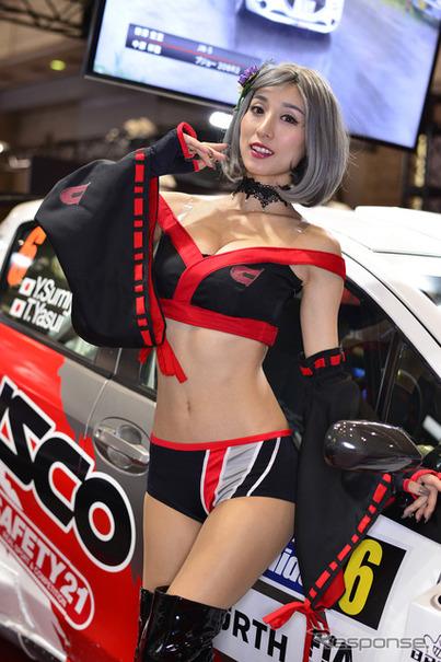 東京オートサロン2017】コンパニオン…CUSCO   Push on! Mycar-life