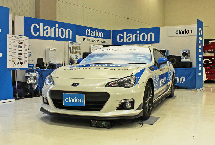 Clarion『Full Digital Sound』デモカー「スバル・BRZ」