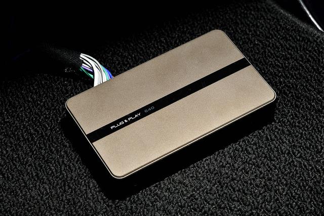 プラグ&プレイのアンプ内蔵デジタルプロセッサー640で音響をコントロールしている