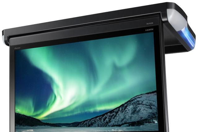 カロッツェリア 13.3V型フルHDフリップダウンモニター TVM-FW1300-B 価格:オープン