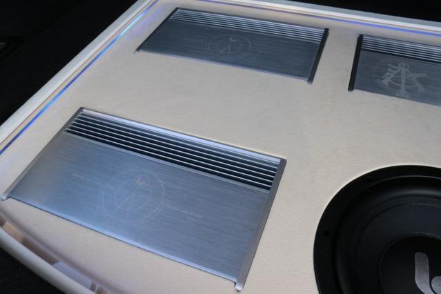 シンフォニ・クワトロリゴのパワーアンプであるPrecision twoをインストール。そのサウンドにオーナーも魅了されている。