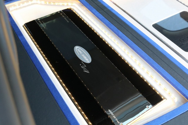 パワーアンプにはARCオーディオの4200SE 10thを2台インストール。ハイクオリティな増幅がオーナーもお気に入りのユニットだ。