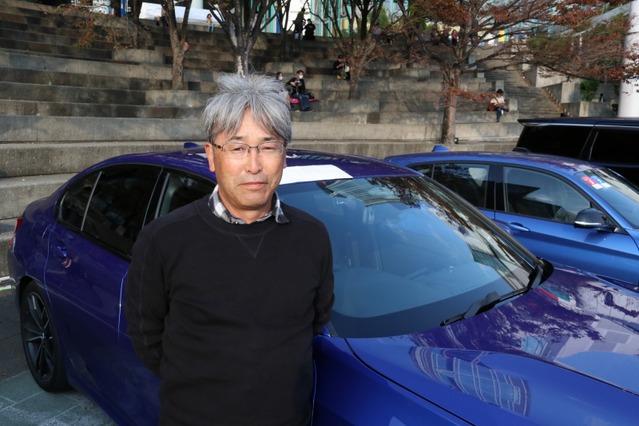 菊地さんの思い描いたサウンドを追求してきたBMW。ZRスピーカーとの出会いがこのクルマを製作するきっかけになった。