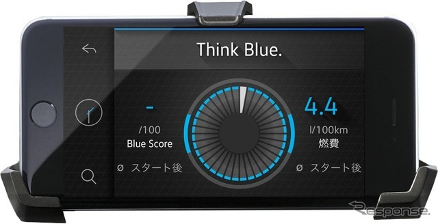 VW up! Volkswagen maps+more Think Blue. トレーナー
