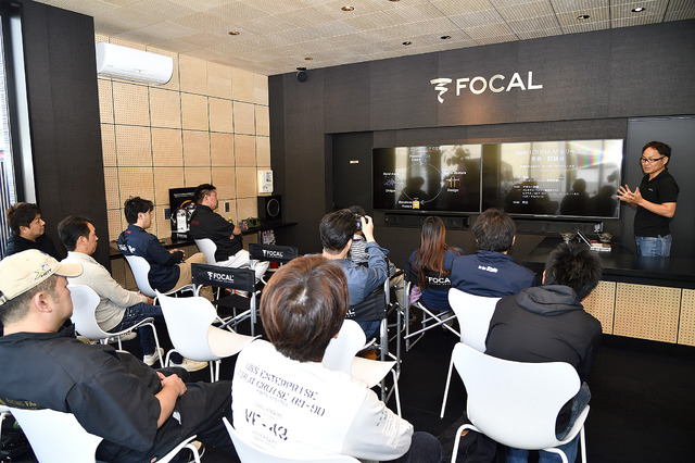 プロショップ向けの発表会には多くの来場者が参加。製品への期待がうかがえる