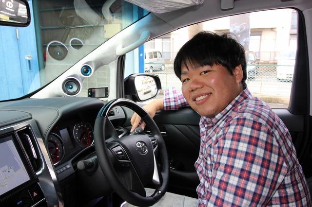 音の進化にどっぷりはまってしまったオーナーの横田さん。西野カナの声を限りなくリアルに再現するオーディオを追い求めている。