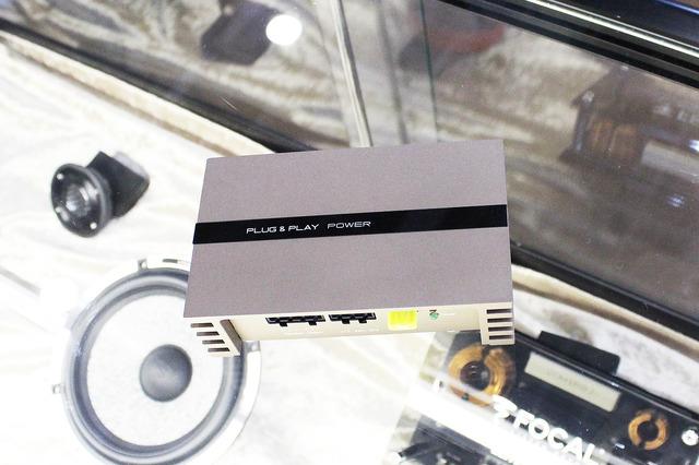 2ch Power Amplifier、PLUG & PLAY POWER(仮称)。