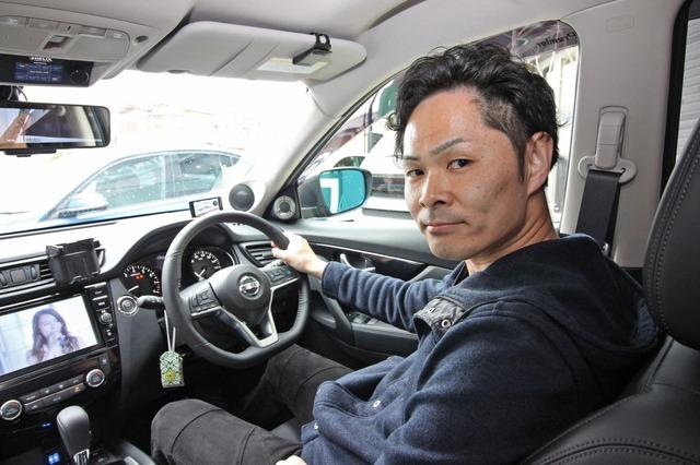 音質に徹底してこだわった車作りを実践するオーナーの竹内さん。純正機能を損なうことないシンプルなデザインを目指した。