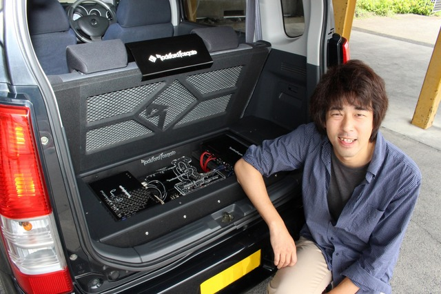 今後もセカンドカーの熟成を進めるというオーナーの伊藤さん。メインカーの進化も同時進行で進める予定だ。