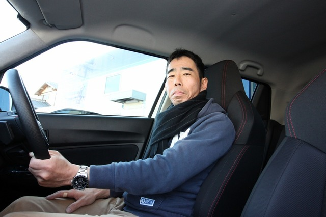 メインカーではヘビーなオーディオを組む磯部さんだがセカンドカーはライトシステムを狙った。その高音質には満足度も高い。